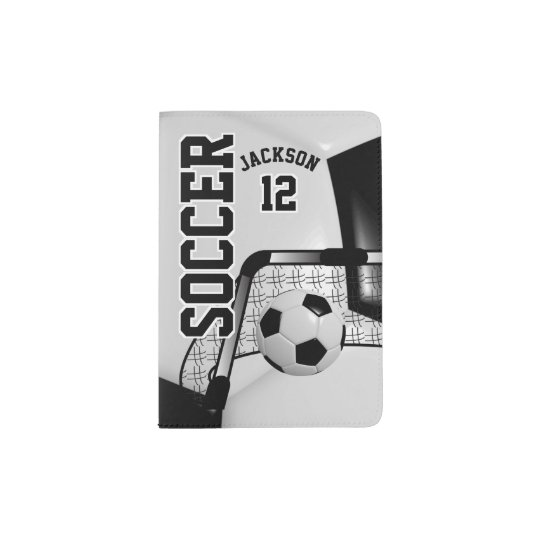 Black and White Soccer Ball Design | Personalise