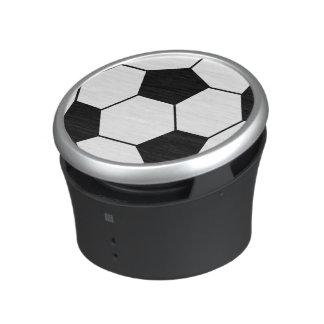 Black and White Soccer Ball Speaker