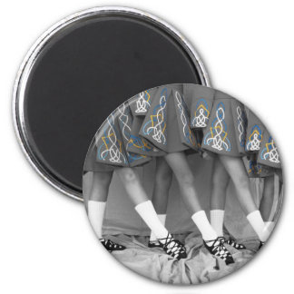 Black and White Soft Shoes Magnet