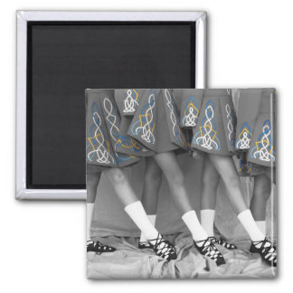 Black and White Soft Shoes Magnet Sq - Customized