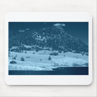 Black and White South Park Lake Mouse Pad