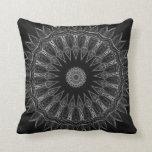 Black and White Southwestern Pillow
