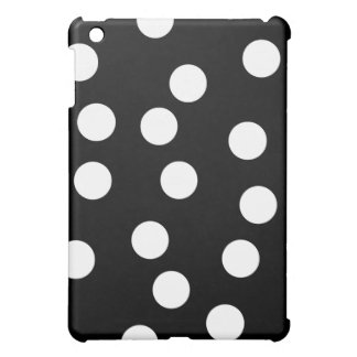 Black and White Spotty Design. Case For The iPad Mini