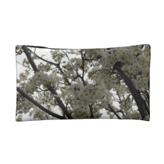 Black and White Spring Cosmetic Bags