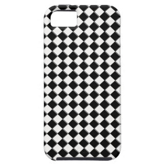 Black and White square iPhone 5 Case