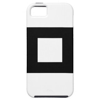 Black and White Square Design iPhone 5 Cases