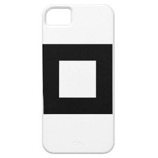Black and White Square Design iPhone 5 Case