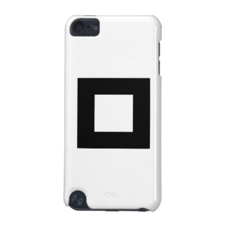 Black and White Square Design. iPod Touch (5th Generation) Cover