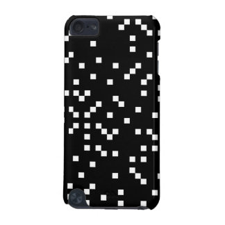 Black and White Square Dots Pattern iPod Touch (5th Generation) Cases