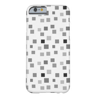 Black and White Square Pattern iPhone 6 Case Barely There iPhone 6 Case