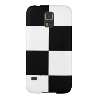 Black And White Squared Design Case For Galaxy S5