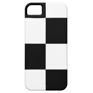 Black And White Squared Design iPhone 5 Cover