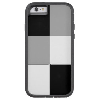 Black and White Squares Tough Xtreme iPhone 6 Case
