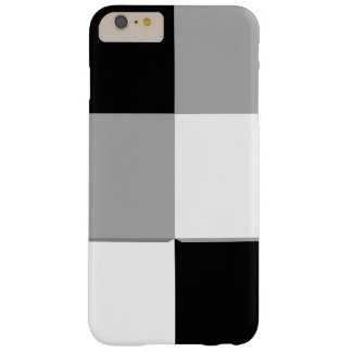 Black and White Squares Barely There iPhone 6 Plus Case