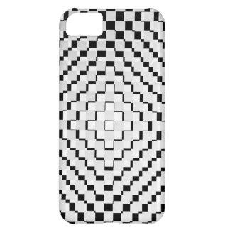 Black and White Squares iPhone 5C Case