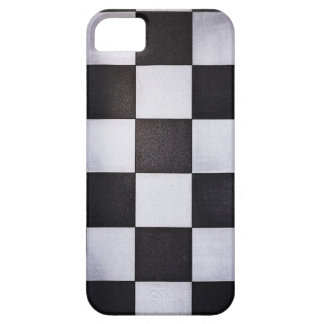 black and white squares iPhone 5 case