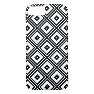 Black and White Squares iPhone 7 Case