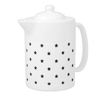 Black And White Stars Pattern