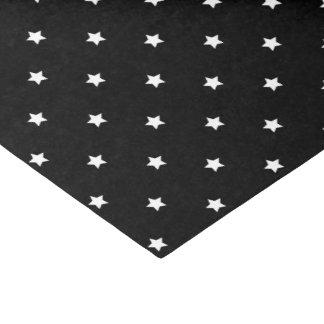 Black And White Stars Pattern Tissue Paper