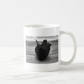 Black and White Strawberry Coffee Mug