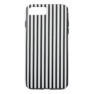 Black and White Stripe iPhone 7 Plus Case