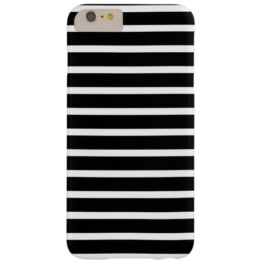 Black and White Striped Pattern Design Barely There
