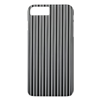 Black And White Striped Pattern iPhone 8 Plus/7 Plus Case
