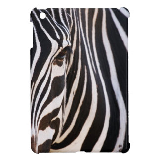 Black and White Striped Zebra Case For The iPad Mini