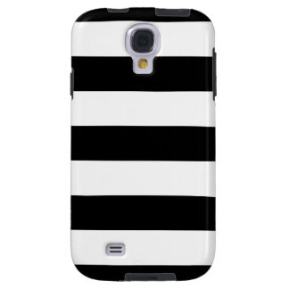 Black And White Stripes Customize This Galaxy S4 Case