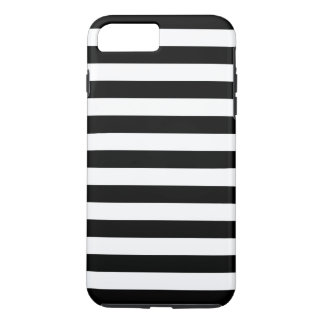 Black and White Stripes iPhone 8 Plus/7 Plus Case