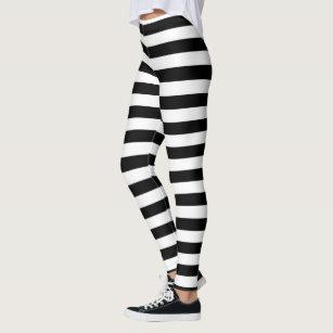 e5f93450bd7a7 Women's Horizontal Stripe Leggings & Tights | Zazzle UK