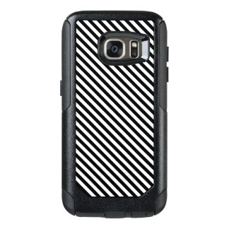 Black and White Stripes OtterBox Samsung Galaxy S7 Case