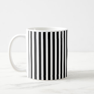 Black and White Stripes; Striped Mugs