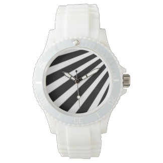 Black and White Stripes Watch