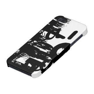 Black and white stylish unique Iphone 5/5s case