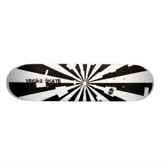Black and white sunburst deck skate board decks