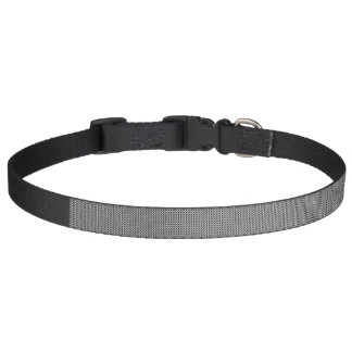 Black and white tag collar - Circle Black