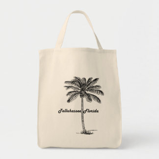 Black and White Tallahassee & Palm design