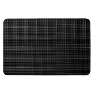 Black and white texture rectangular photo magnet