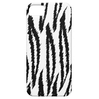 Black and White Tiger Print. Tiger Pattern. iPhone 5 Covers
