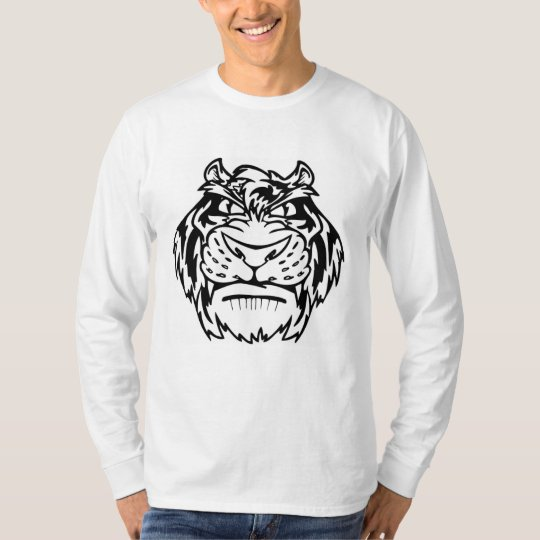 Black and white tiger T-Shirt