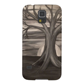Black and white tree Samsung Galaxy 5 phone case