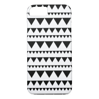 Black and white triangle iPhone 8/7 case