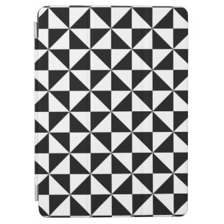 Black And White Triangle Pattern iPad Air Cover