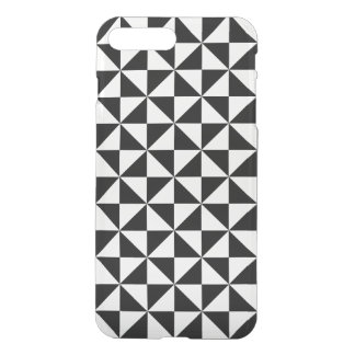 Black And White Triangle Pattern iPhone 8 Plus/7 Plus Case