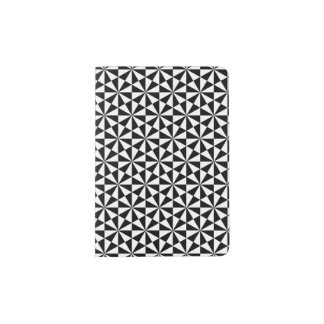 Black and white triangles pattern