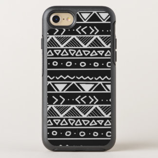Black and White Tribal iPhone 7 OtterBox case