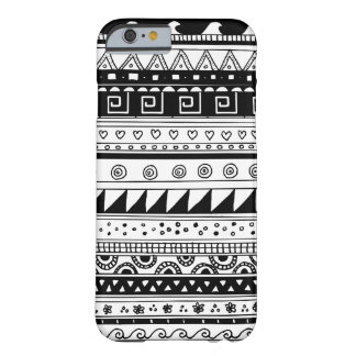 Black and white Tribal pattern iPhone 6 Case