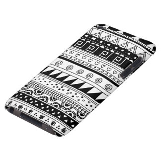 Black and white Tribal pattern iPod Touch Covers