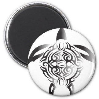 black-and-white-turtle magnet